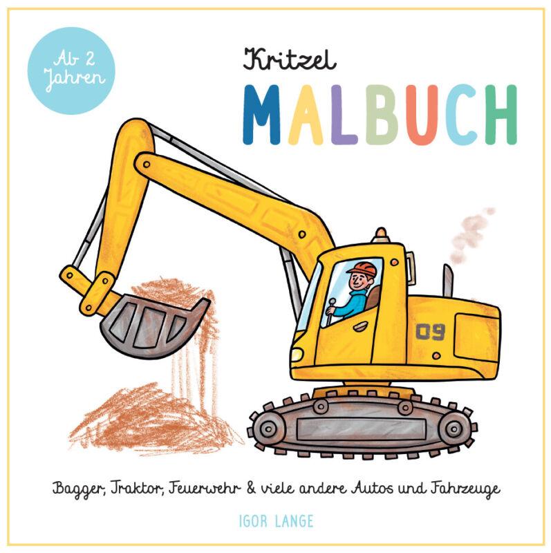 Igor Lange - Kritzel Malbuch