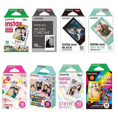 80 instant photos 8 packs instax mini