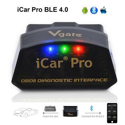 US Vgate iCar Pro Bluetooth 4.0 ELM327 OBD2 Scanner Diagnostic Tool Code Reader
