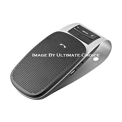Jabra Drive Bluetooth Car Kit Speakerphone -20 Hours Of Talk Time - NIB