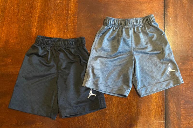 Nike Mesh Basketball Shorts Black & Gray Toddler size 2T