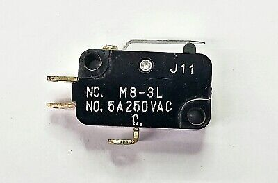 Mulon M8-3lspdt- On-on Short Lever Micro Switch 5a 250v Ac