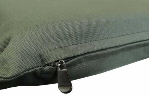 Heavy Duty DIY Durable Green Canvas Cotton Fabric Pet Dog Bed Cover Large 47x29