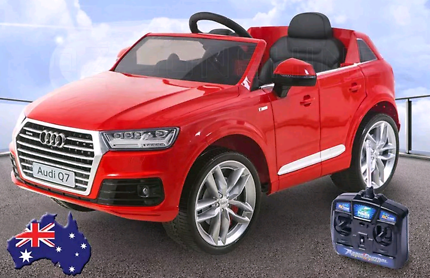 Electric Kids Ride on Car Licensed Audi Q7 Children Toy RED