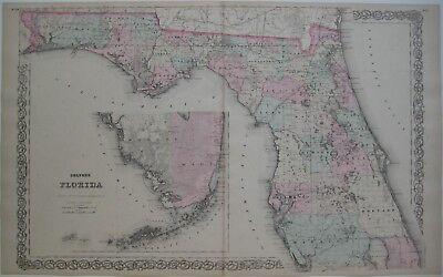 1855 GA MAP COBB COFFEE COLQUITT COLUMBIA COOK COWETA CRAWFORD CRISP DADE COUNTY