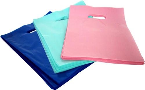 """150 Glossy Shopping Bags Merchandise 9""""x12"""" Retail Plastic G"""