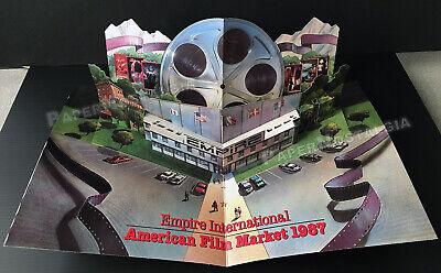 EMPIRE INTL. STUDIOS__Orig. 1987 Trade Pop-up 3-D promo / brochure__CHARLES BAND