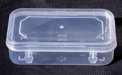 Small Plastic Clear Transparent Storage Container (8.5X5 Inch) At The Best