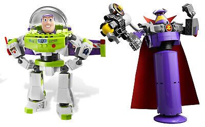 Lego TOY STORY Construct-a-Zurg & Buzz 7591 & 7592 RETIRED Free Shipping