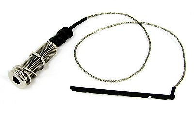 Acoustic Guitar Parts: High Quality Rod Piezo & Endpin Jack Harness