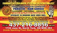 Famous astrologer psychic and spiritualist  Pandith-Ram guruji