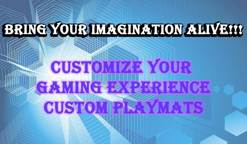 CUSTOM PLAY MAT ANIME PLAYMAT YUGIOH MAGIC WOW CARDFIGHT POKEMON FREE SHIPPING