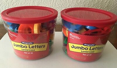 Learning Resources - Jumbo Magnetic Lowercase Letters