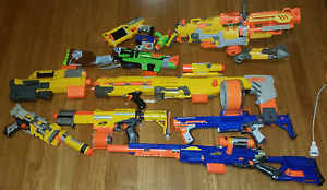 Huge Nerf Gun Collection! Yokine Stirling Area Preview
