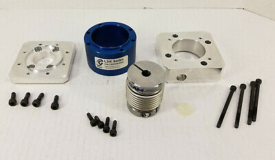 Gam Gear Lsk32n-0958 Linear Slide Kit Housing Metal Coupling Bellows