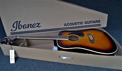Ibanez PF15-VS Performance Series 6 STRING ACOUSTIC DREADNOUGHT GUITAR SUNBURST