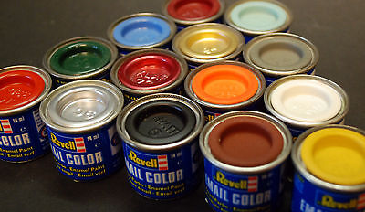 (GP:€ 12,10/100 ml) Revell Email Color 88 Kunstharzfarben zum Aussuchen 14 ml
