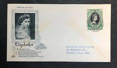 Trinidad & Tobago 1953 Coronation FDC First Day cover