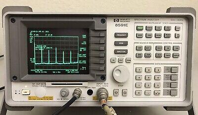 Hp 8591e Spectrum Analyzer 9 Khz To 1800 Mhz