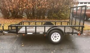 SLED READY UTILITY TRAILER 6x10 GREAT FOR SNOWMOBILE or QUADS