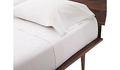 Queen Sleeper Sofa Bed Sheet Set - White 100 Percent Egyptian Cotton (60