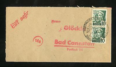 BADEN Nr.33(2) BRIEF SST TODTMOOS 9.6.1949 KURORT !!! (950243)
