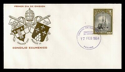 DR WHO 1964 PANAMA FDC ST PATRICK'S CATHEDRAL  C244102