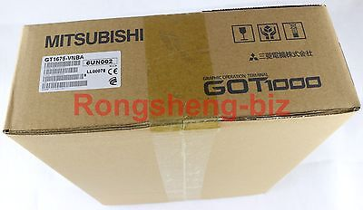 Mitsubishi Hmi Gt1675-vnba Gt1675vnba New In Box