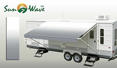 18Ft RV Awning Replacement Camper Trailer Vinyl Fabric Sun Shade Protection (Best Fabric For Rv Awning)