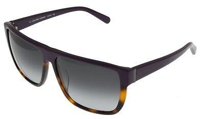 Calvin Klein Collection Sunglasses Women Plum Tortoise Rectangular CK7815 508