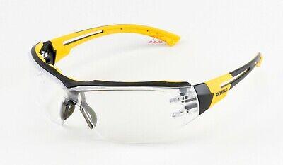 Dewalt Renovator Clear Anti Fog Premium Safety Glasses Padded Brow Guard Z87