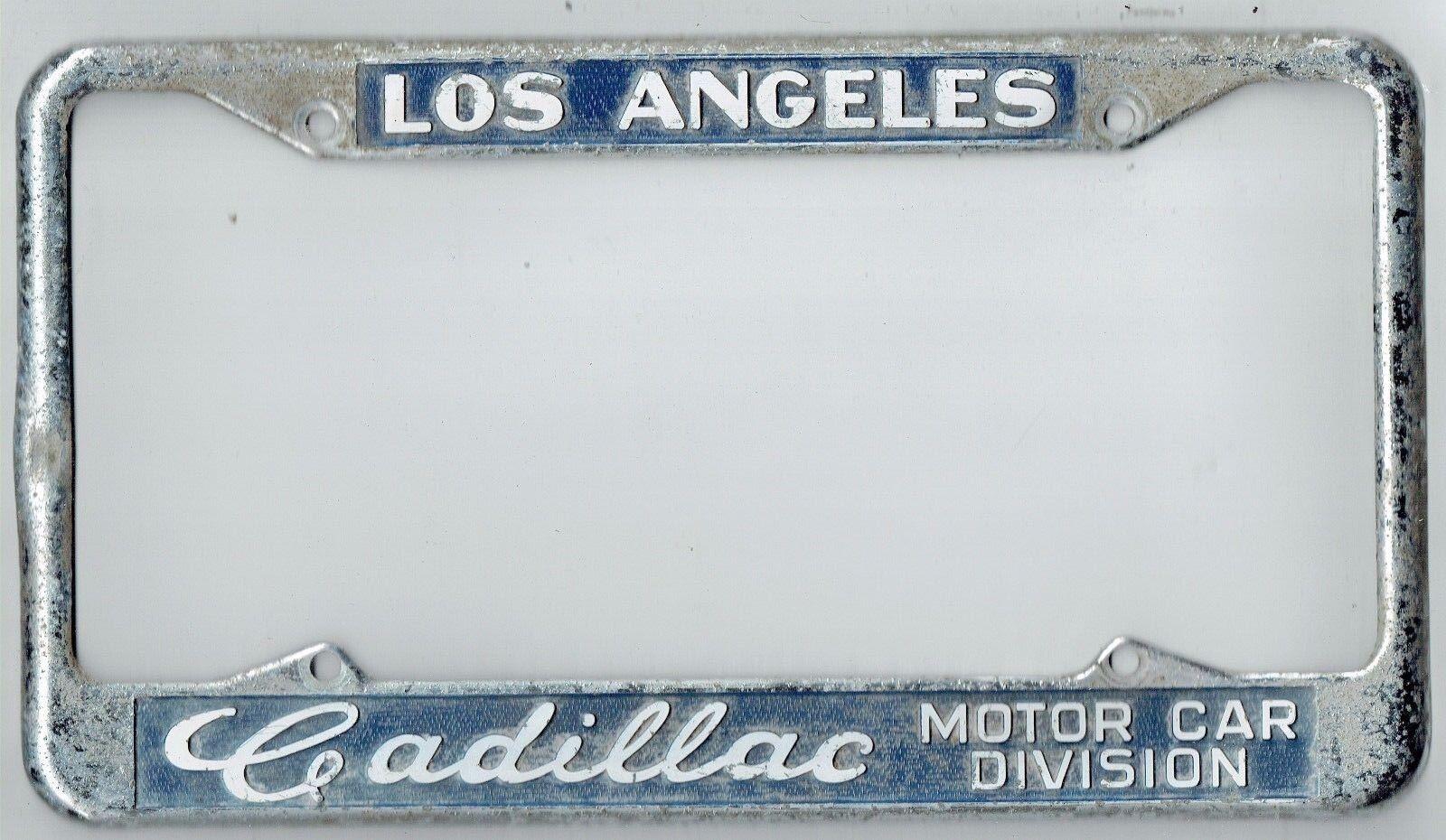 Glendale California Allen Gwynn Chevrolet Vintage Dealer License ...