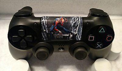 Custom Spiderman Dualshock 4 PS4 Controller Touchpad Decal III