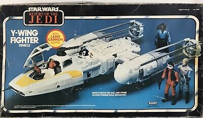 Vintage Star Wars Y-Wing Fighter Boxed