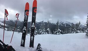 Rossignol Super 7 Skis with bindings, poles and or boots