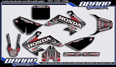 (Honda CRF-50 2004-2018 Graphics Decal Kit RG)