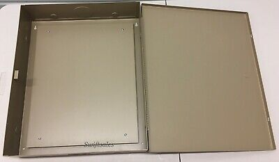 Mier Products Bw-101bp Beige Low Voltage Enclosure With Back Panel - Brand New