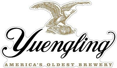 Yuengling Brewery Logo Eagle Beer Vinyl Decal - You Choose Size 2