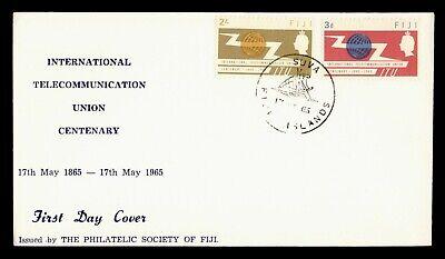 1965 FIJI FDC TELECOMMUNICATION