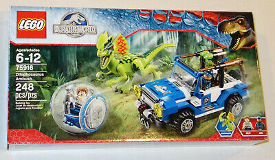 LEGO - Jurassic World - Dilophosaurus Ambush - 75916 - RETIRED! NEW! SEALED!