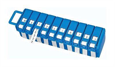 Ideal Wire Marker Dispenser Wlegends 0-9 Usa 42-301