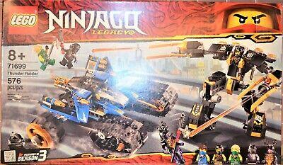 Lego Ninjago Thunder Raider #71699 - NEW SEALED
