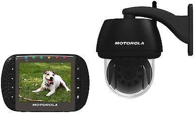 MOTOROLA Scout 1100 Digitale Video Überwachung mit Innen und Außenkamera Babyfon