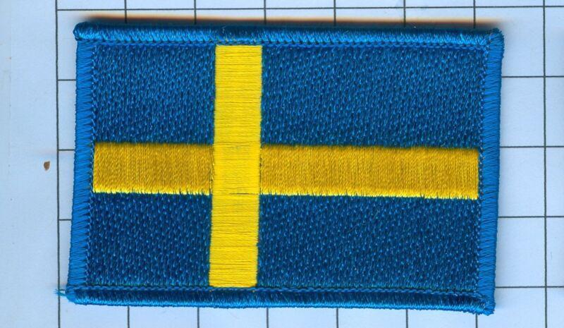 International Flag Patch Sweden