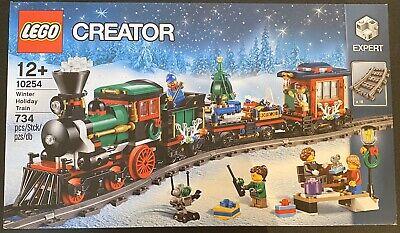 Lego Creator Expert Winter Holiday Train (10254) Retired. Brand New. BNIB.