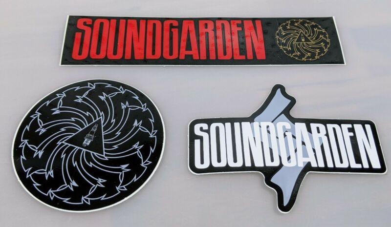 Lot of 3 SOUNDGARDEN Tour Stickers Rock - NEW