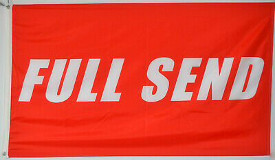 Full Send Banner Flag 3x5 Feet Nelk Nelkboys for The Boys banner US - Flag Banner