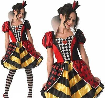 Sassy Rote Königin Erwachsene Kostüm Alice Im Wunderland - Wunderland Outfit