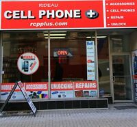 CELL PHONE STORE: REPAIRS / UNLOCKING / PHONES / ACCESSORIES