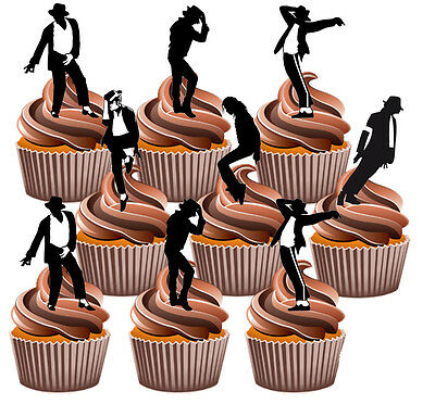 ouettes Fun Fully Edible Birthday Cup Cake Toppers Decorati (Michaels Cupcake Toppers)